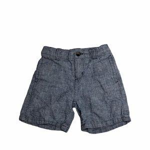 Janie and jack blue baby shorts